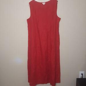 J. Jill Love Linen maxi dress